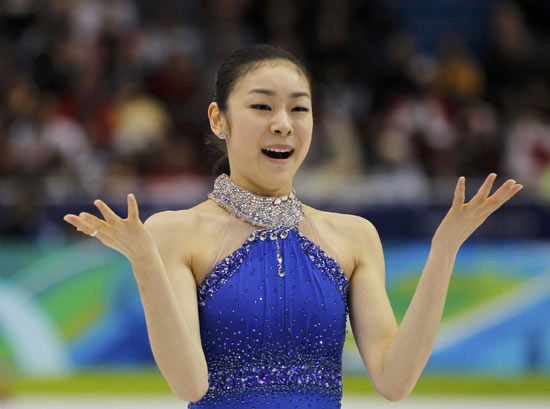 female figure skaters olympics