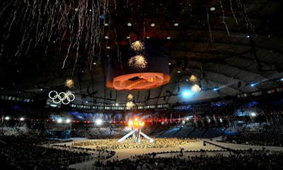 The 2010 Winter Games closing ceremony