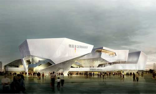 世博会德国馆的建筑设计图集