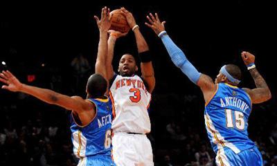 Knicks beat Nuggets 109-104