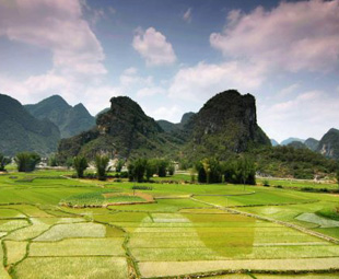 Drought-ravaged Guangxi meets rainy weather