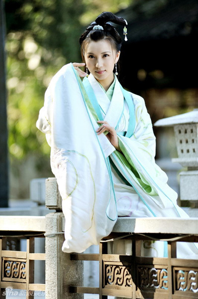 Chinese actress Chen Hao plays Diao Chan in the TV Series 'Three Kingdoms'. The series is scheduled to hit TV screens in Anhui, Jiangsu, Tianjin and Chongqing on May 2.