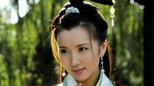 Actress Chen Hao in Three Kingdoms