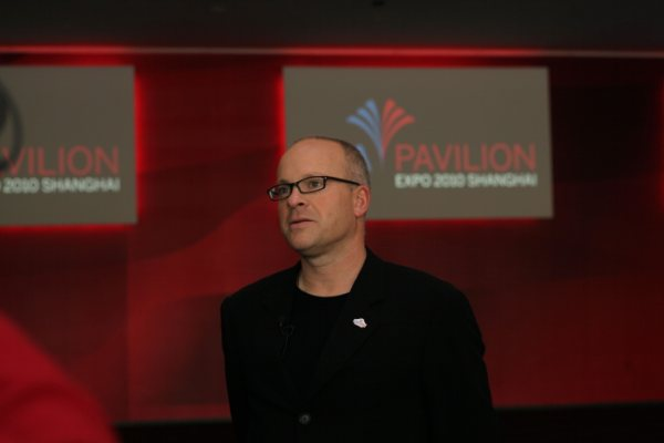 Martin Alintuck, director of communications for the USA Pavilion