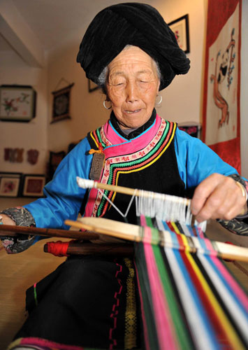 Keeping Qiang culture alive