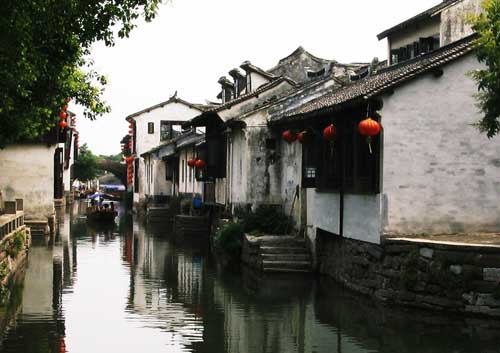 Zhouzhuang, about 80 miles (or 128 kms) from the Shanghai Expo site. [Photo: CRIENGLISH.com]
