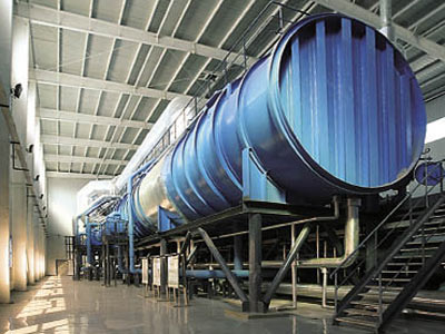 Seawater desalination plant in Tianjin [File photo]