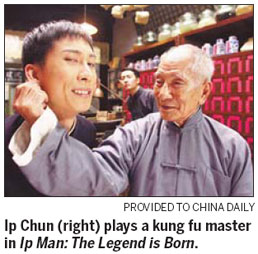 Late kung fu master Ip Man's son nominated movie award ...Yip Man Son