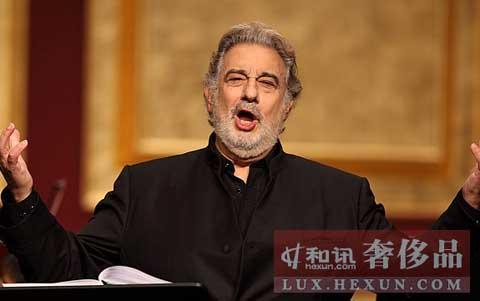 Domingo challenges his baritone voice in Beijing - China org cn