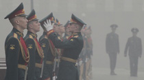 Moscow shrouded in heavy smog