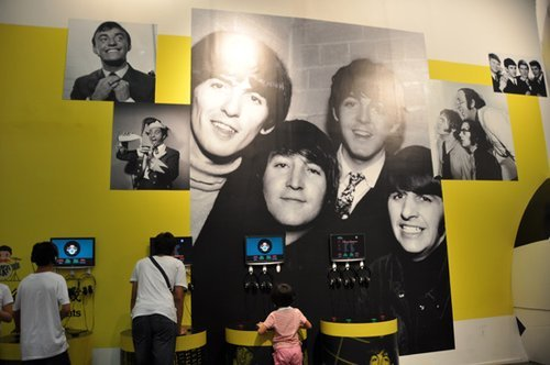 File photo: the Liverpool Pavilion at Shanghai World Expo 资料图:上海世博会利物浦案例馆