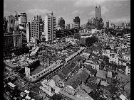 Shenzhen's Luohu district in 1996. [QQ.com]