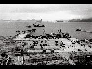 Shenzhen's Yantian Port in 1986. [QQ.com]