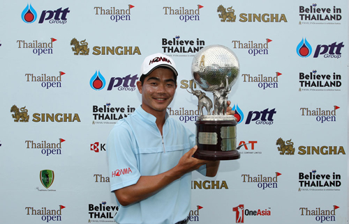China's Liang Wenchong once again showed he is a world class player by winning the US$1 million Thailand Open at Burapha Golf Club. [China.org.cn]