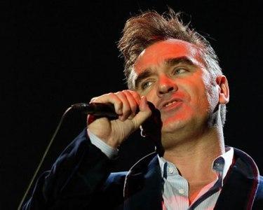 British singer Steven Morrissey