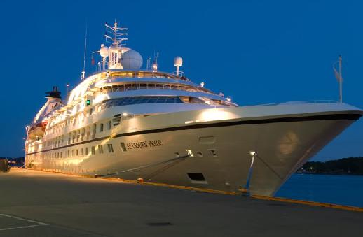 The package includes oceanview suite accommodations, classic entertainment and onboard meals.