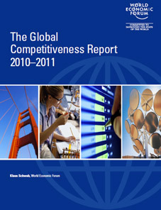 The World Economic Forum's Global Competitiveness Report 2010-2011 released on September 9, 2010.