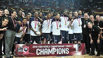 The United States defeated Turkey 81-64 in Sunday's final of the 2010 World Basketball Championships in Istanbul.