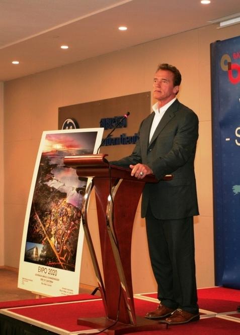 Schwarzenegger: California bids to host 2020 World Expo