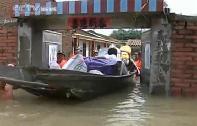 Rainfall & floods inundate Hainan Province