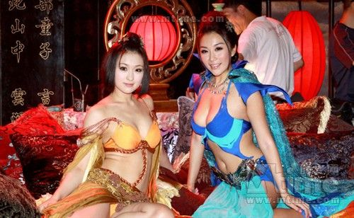 The world's first 3-D erotic movie, '3-D Sex and Zen: Extreme Ecstasy' is expected to attract mainland tourists to Hong Kong. The movie, which stars Hong Kong actors Ho Wah Chiu and Vonnie Lui as well as Japanese adult video actresses Saori Hara and Yukiko Sou, is in production in Hong Kong and is slated for release on May 1st next year.