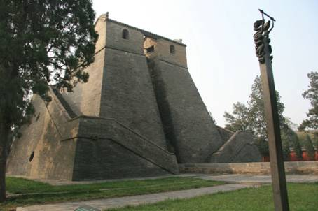 Dengfeng Observatory, located in Gaocheng Village, Henan Province [Lin Liyao/China.org.cn]