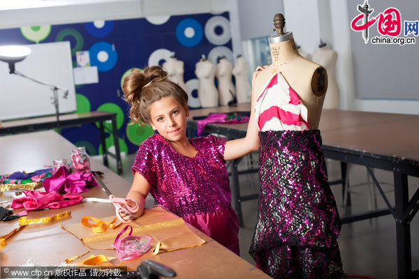 Us Youngest Fashion Designer 11 Year Old Girl