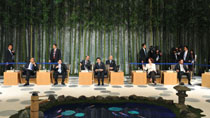 APEC leaders meet in Yokohama to ponder regional integration
