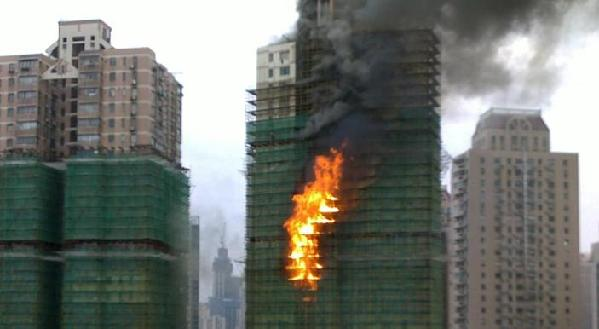 Shanghai residential building fire kills 52
