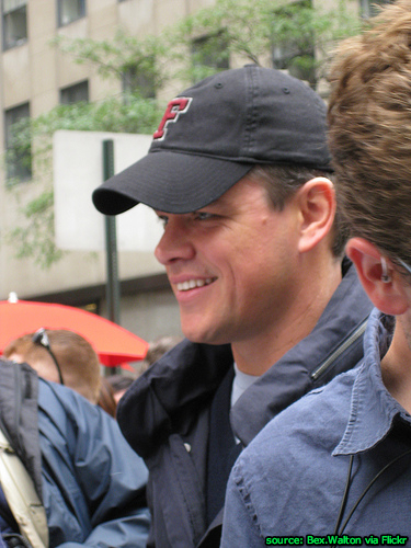 Matt Damon, Inside Job narrator