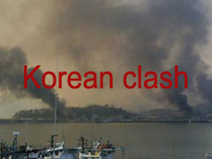 Korean clash