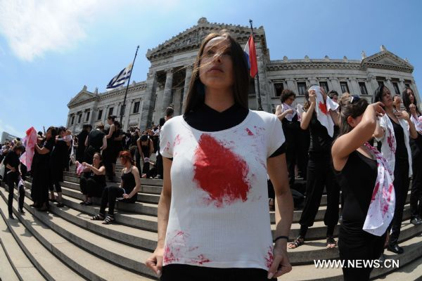 violence against women in uruguay