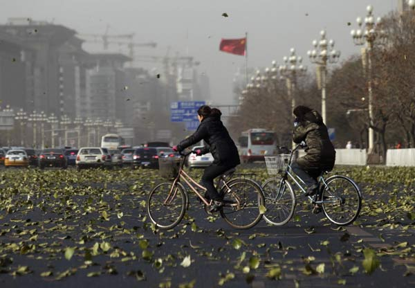 Wind can't blow away Beijing's&#160;pollutants