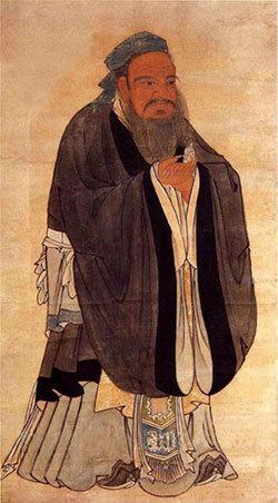 Portrait of Confucius. [File Photo]