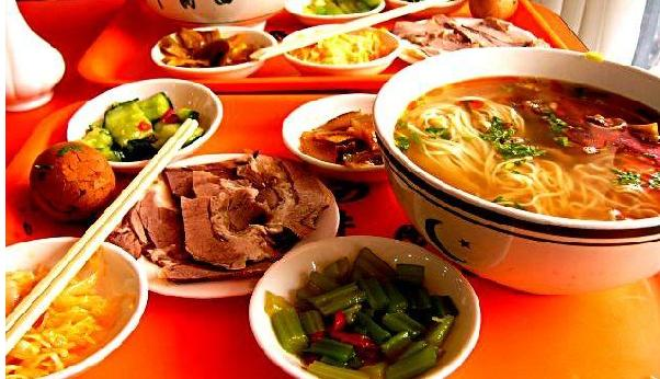 As the name suggests, the restaurant specilizes in beef spicy noodles.