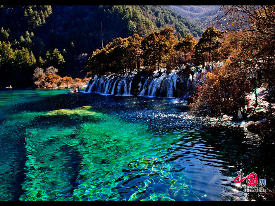 Aba China  city photos gallery : best scenic areas is Jiuzhaigou, or Jiuzhai Valley, located in the Aba ...