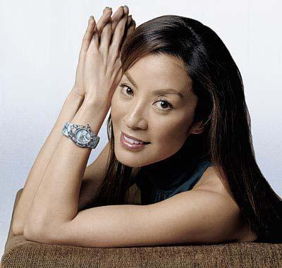 Michelle Yeoh, womam warrior in popular culture