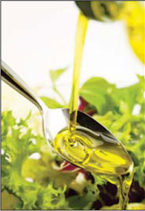 Olive oil is usefull in the fight against mental illness. [China Daily]