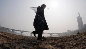 Water level of Xiangjiang River near alarm level