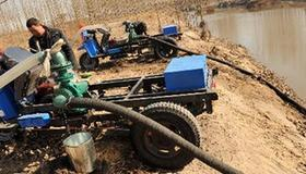Anti-drought efforts in north China