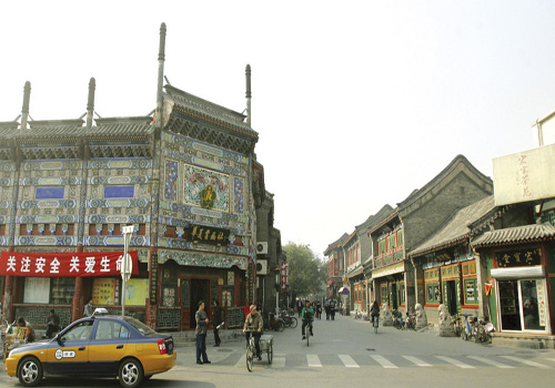 Liulichang is located in the south of Xicheng District. [showchina. org]