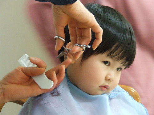how to cut hair very fast