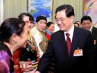 Hu underlines stability and reform in Tibet
