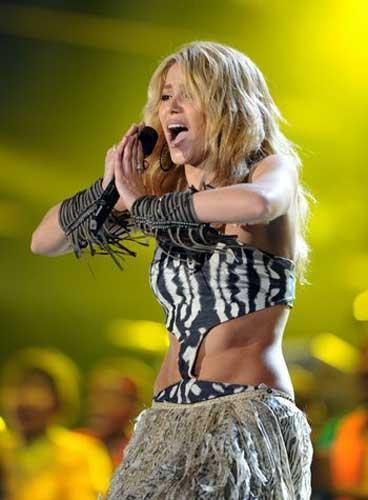 Shakira Kicks Off World Tour In Latin America China Org Cn