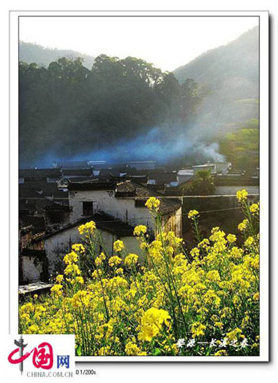 Wuyuan County, one of the 'Top 5 March Destinations in China' by China.org.cn