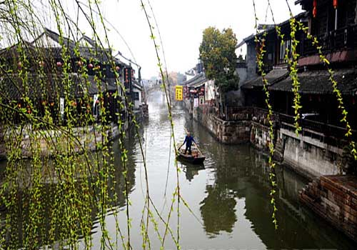 Water towns of south China, one of the 'Top 5 March Destinations in China' by China.org.cn