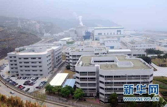 The Nuclear Power Plant in the Daya Bay, south China's Guangdong Province, is in normal operation on March 15, 2011.