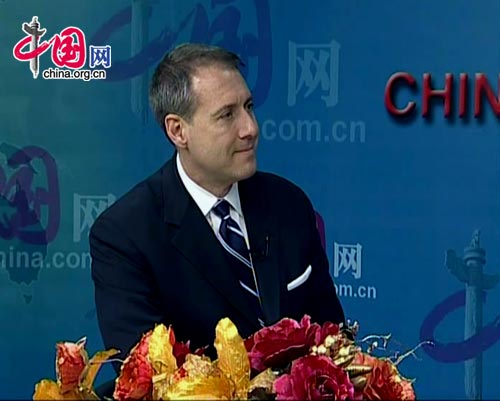 Dr. John Tedstrom, GBC President and CEO [China.org.cn]