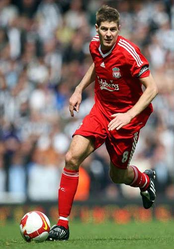Steven Gerrard, one of the 'Top 20 highest-earning footballers of 2011' by China.org.cn