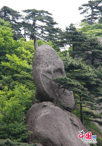 Huangshan Mountain, one of the 'Top 10 April destinations in China' by China.org.cn